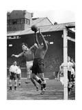 Scherl - Fußballspiel in Hampden Park, Glasgow, 1935 - Fotografik Baskı
