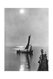 Sunset at the Curonian Spit, 1942 Photographic Print by  Knorr & Hirth