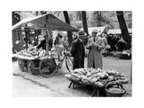 Markt in Münster, 1935 Photographic Print by  Süddeutsche Zeitung Photo