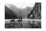Koenigssee with Frozen Surface, 1939 Photographic Print by  Scherl