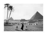 Pyramiden von Gizeh, 1928 Photographic Print by  Scherl