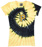 Women's: MLB: Pirates Spiral V-Neck Womens V-Necks