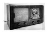 Historischer Fernsehapparat, 1939 Photographic Print by  Knorr & Hirth