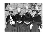Women in Breton Costume, Ca. 1930's Photographic Print by  Scherl