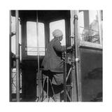 Straßenbahnführerin in Moskau, 1931 Photographic Print by Scherl Süddeutsche Zeitung Photo