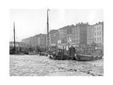 Eis im Hafen von Stettin, 1937 Photographic Print by  Scherl