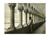 Cloister of the Monastery Notre-Dame De Lérins in France, 1933 Photographic Print by  Scherl
