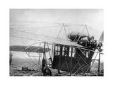 """Flugapparat Blériot XXIV """"Limousine"""", 1911 Photographic Print by Scherl Süddeutsche Zeitung Photo"""