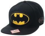 Batman - Logo Black Snapback キャップ
