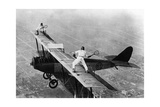 Tennis on a Plane, 1925 Photographic Print by  Scherl