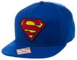 Superman - Logo Blue Snapback Hat