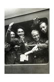 "Members of the ""Jeunes Du Maréchal"" on their Way to Germany, 1943 Photographic Print by  Scherl"