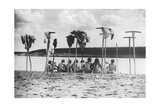 Russische Frauen am Fluss, 1930er Jahre Photographic Print by  Scherl