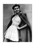 Mode in den Nationalfarben der USA, 1941 Impressão fotográfica por  Süddeutsche Zeitung Photo