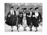 Female University of London Graduates, 1937 Photographic Print by  Scherl