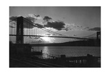 George-Washington-Brücke, New York, 1933 Photographic Print by Scherl Süddeutsche Zeitung Photo