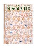 The New Yorker Cover - April 21, 1962 Premium Giclee Print by Anatol Kovarsky