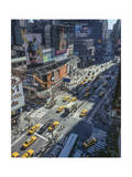 Top View Times Square, New York City Photographic Print by Henri Silberman