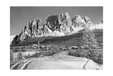 The Small Town of Cortina D'Ampezzo in the Southern Alps, 1930S Fotografisk trykk av  Scherl