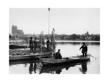 Fishermen in Prenzlau, 1934 Photographic Print by  Scherl