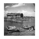 Fischerboote in Karelien, 1930er Jahre Photographic Print by  Scherl