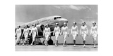Stewardessen der Trans World Airlines, 1938 Photographic Print by  Scherl