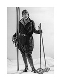 Fashion for Female Skiers, 1930 Photographic Print by  Scherl