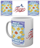 Fargo - Right & Wrong Mug Krus