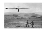 Gliding Competition in the Rhoen Mountains, 1922 Photographic Print by  Scherl
