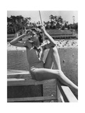 Swimsuit Trends, 1939 Photographic Print by  Scherl