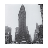 Flatiron Building in Rain Photographic Print by Henri Silberman