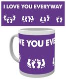 Valentines - I Love You Everyway Mug Mugg