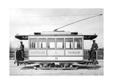 Electric Tram in Munich, Ca. 1895 Photographic Print by  SZ Photo