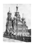 Cathedral of the Resurrection of Christin Saint Petersburg, 1910S Photographic Print by  Scherl