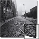 Brooklyn Trolley Tracks Posters by Henri Silberman