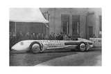 "Streamlined Race Car ""Silver Bullet"" in England, 1930 Photographic Print by  Scherl"