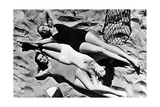 Swimwear in the USA, 1941 Photographic Print by  Scherl