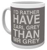 Valentines - Mr Grey Mug Mugg