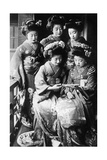 Girls in Japan, 1933 Photographic Print by  Scherl