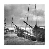 Fishing Boats in Sambia, 1924 Photographic Print by  Scherl