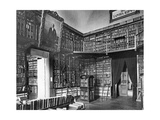 Library in Saint Petersburg, 1914 Photographic Print by  Scherl