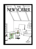 The New Yorker Cover - March 29, 2004 Regular Giclee Print by Bruce Eric Kaplan