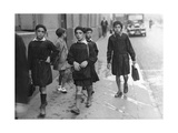 School Boys in Paris, 1935 Photographic Print by  SZ Photo