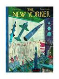 The New Yorker Cover - December 9, 1961 Premium Giclee Print by Anatol Kovarsky