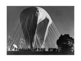 Stratospheric Balloon of the Belgian Scientist Cosyns, 1934 Photographic Print by  Scherl
