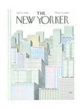 The New Yorker Cover - April 2, 1966 Premium Giclee Print by Anatol Kovarsky