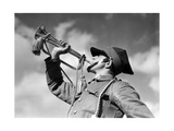 Trumpeter of the Polish Cavalry before 1939 Photographic Print by  SZ Photo