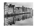 Scherl - Port of Gdansk, 1939 Fotografická reprodukce