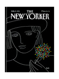 The New Yorker Cover - July 8, 1991 Premium Giclee Print by Heidi Goennel