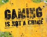 Gaming Is not a crime Photo